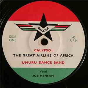The Uhuru Dance Band - The Great Airline Of Africa / Kata Wodie So mp3 album
