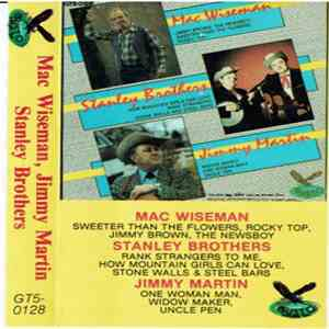 Mac Wiseman-Stanley Brothers -Jimmy Martin - The Stanley Brothers - Jimmy Martin - Mac Wiseman-Stanley Brothers -Jimmy Martin mp3 album
