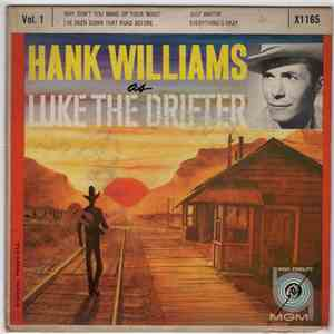 Hank Williams - Hank Williams As Luke The Drifter Vol. 1 mp3 album